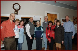 Jerry and Merri Serra's Team, Pictured: Craig Bonaceto, Merri Serra, Mary Lou Jarasitis, Paul Hardy, Donna Robillard, Gerry Jarasitis, Denice Gormley, Kristen Flynn, Lynda Hague, Mike Gormely.  Missing:  John Caron, Ron Martin, Allan King, Terry Terranova, Claire Frassica, Rick Miguel, Julianne O'Keefe, Charlene Caron, Betty Chaput, Pat Burton, Meg Geary, Sue MacDonald