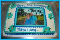 Serra anniversary cake