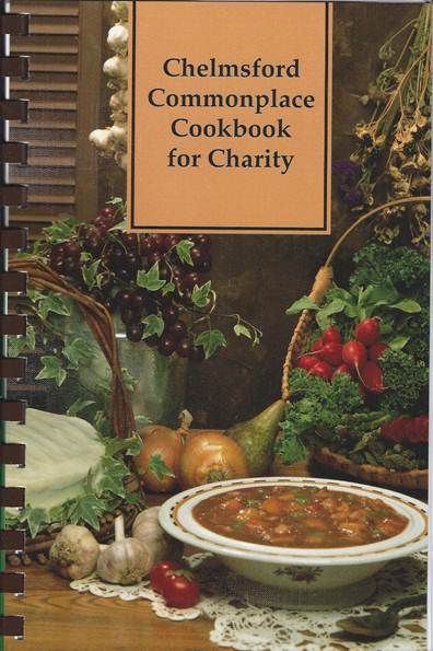 Chelmsford Commonplace Cookbook for Charity