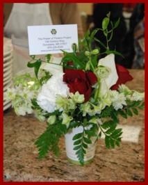A Power of Flowers Centerpiece